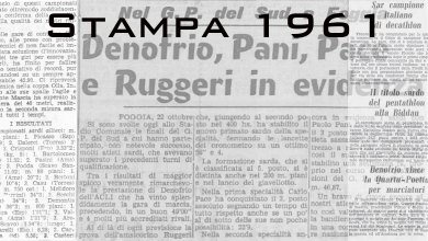 Photo of Il 1961 sugli organi di stampa