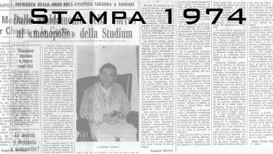 Photo of Il 1974 sugli organi di stampa