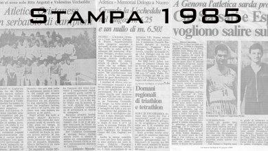 Photo of Il 1985 sugli organi di stampa