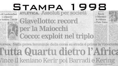 Photo of Il 1998 sugli organi di stampa
