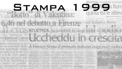 Photo of Il 1999 sugli organi di stampa