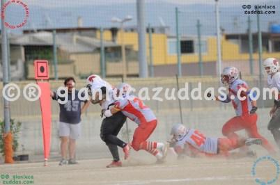 Crusaders Cagliari vs Daemons Martesana, 6-48, 16 ottobre 2011 100