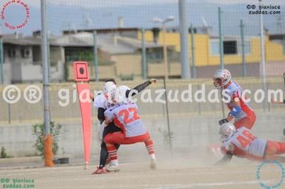 Crusaders Cagliari vs Daemons Martesana, 6-48, 16 ottobre 2011 101