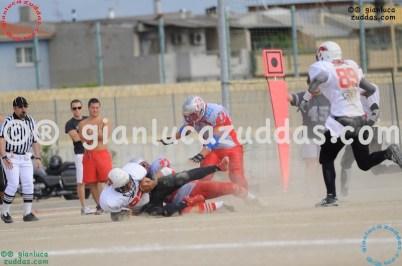 Crusaders Cagliari vs Daemons Martesana, 6-48, 16 ottobre 2011 105