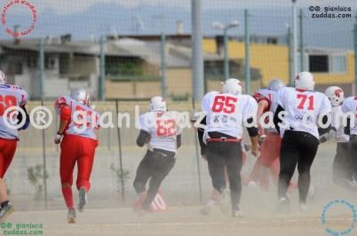 Crusaders Cagliari vs Daemons Martesana, 6-48, 16 ottobre 2011 111