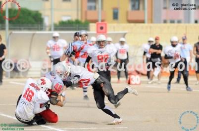 Crusaders Cagliari vs Daemons Martesana, 6-48, 16 ottobre 2011 126