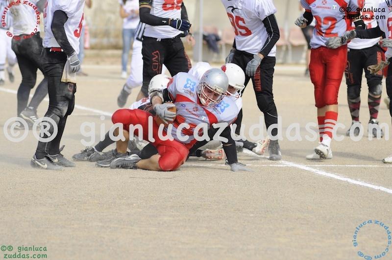Crusaders Cagliari vs Daemons Martesana, 6-48, 16 ottobre 2011 128