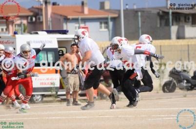 Crusaders Cagliari vs Daemons Martesana, 6-48, 16 ottobre 2011 14