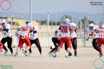 Crusaders Cagliari vs Daemons Martesana, 6-48, 16 ottobre 2011 143