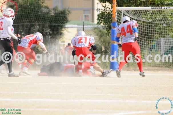 Crusaders Cagliari vs Daemons Martesana, 6-48, 16 ottobre 2011 15