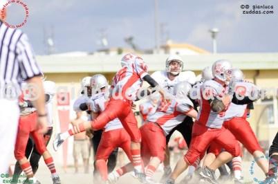 Crusaders Cagliari vs Daemons Martesana, 6-48, 16 ottobre 2011 155