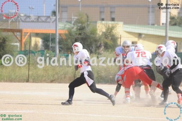 Crusaders Cagliari vs Daemons Martesana, 6-48, 16 ottobre 2011 16