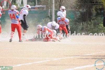 Crusaders Cagliari vs Daemons Martesana, 6-48, 16 ottobre 2011 19