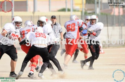 Crusaders Cagliari vs Daemons Martesana, 6-48, 16 ottobre 2011 251