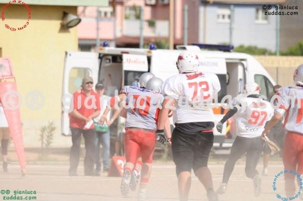 Crusaders Cagliari vs Daemons Martesana, 6-48, 16 ottobre 2011 258