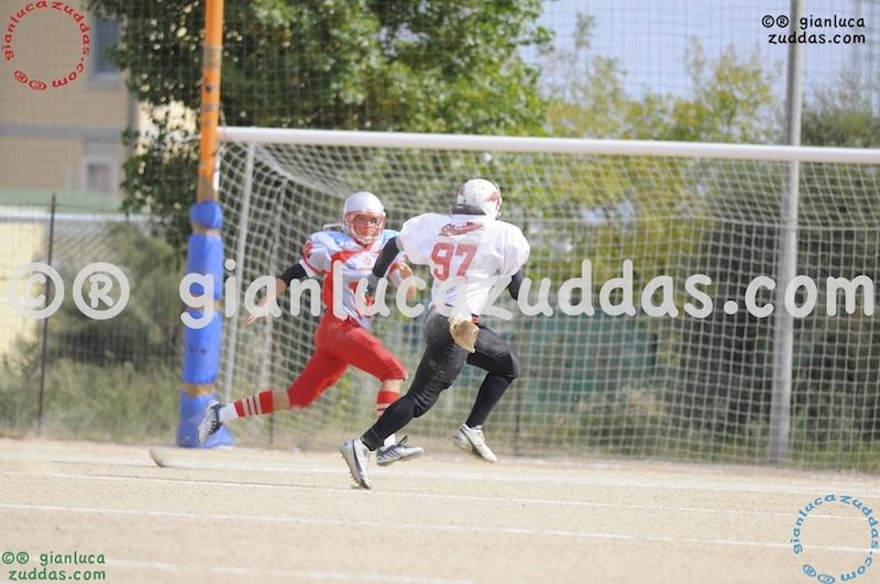 Crusaders Cagliari vs Daemons Martesana, 6-48, 16 ottobre 2011 28