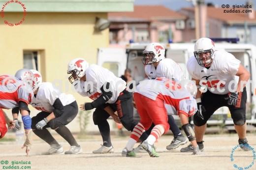 Crusaders Cagliari vs Daemons Martesana, 6-48, 16 ottobre 2011 295