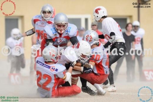 Crusaders Cagliari vs Daemons Martesana, 6-48, 16 ottobre 2011 297
