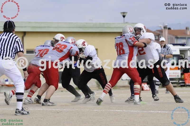 Crusaders Cagliari vs Daemons Martesana, 6-48, 16 ottobre 2011 317