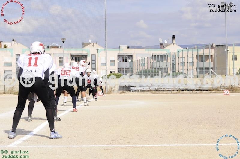 Crusaders Cagliari vs Daemons Martesana, 6-48, 16 ottobre 2011 6