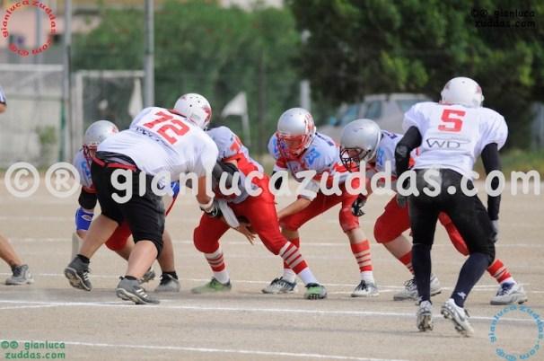 Crusaders Cagliari vs Daemons Martesana, 6-48, 16 ottobre 2011 64