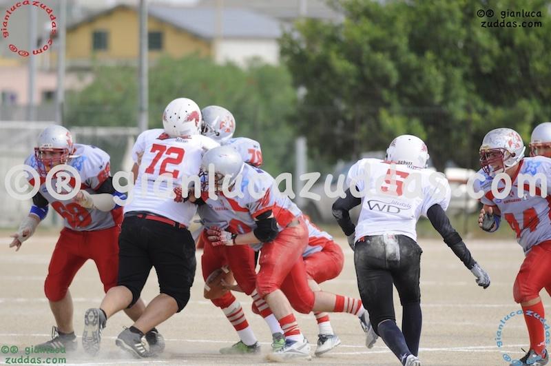 Crusaders Cagliari vs Daemons Martesana, 6-48, 16 ottobre 2011 65