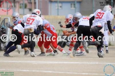 Crusaders Cagliari vs Daemons Martesana, 6-48, 16 ottobre 2011 71