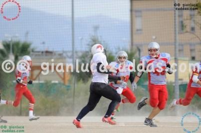 Crusaders Cagliari vs Daemons Martesana, 6-48, 16 ottobre 2011 80