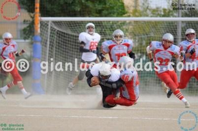 Crusaders Cagliari vs Daemons Martesana, 6-48, 16 ottobre 2011 83