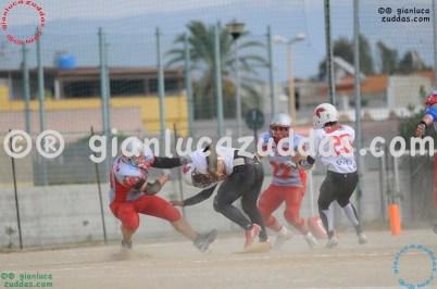 Crusaders Cagliari vs Daemons Martesana, 6-48, 16 ottobre 2011 92