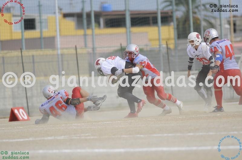 Crusaders Cagliari vs Daemons Martesana, 6-48, 16 ottobre 2011 95