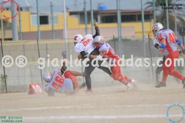 Crusaders Cagliari vs Daemons Martesana, 6-48, 16 ottobre 2011 96