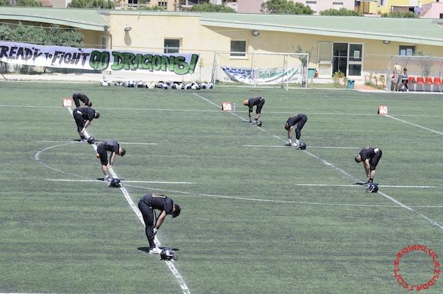 Crusaders Cagliari vs Dragons Salento, 48-0, 29 maggio 2011 1