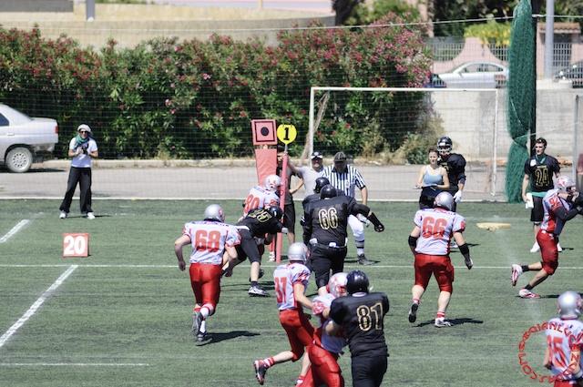 Crusaders Cagliari vs Dragons Salento, 48-0, 29 maggio 2011 105
