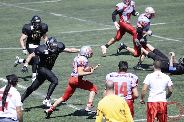 Crusaders Cagliari vs Dragons Salento, 48-0, 29 maggio 2011 116