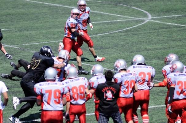 Crusaders Cagliari vs Dragons Salento, 48-0, 29 maggio 2011 117