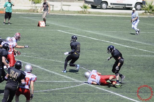 Crusaders Cagliari vs Dragons Salento, 48-0, 29 maggio 2011 141