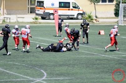 Crusaders Cagliari vs Dragons Salento, 48-0, 29 maggio 2011 155