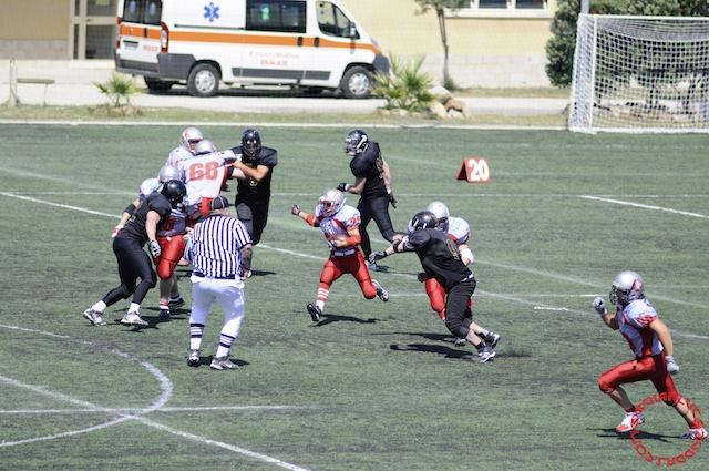 Crusaders Cagliari vs Dragons Salento, 48-0, 29 maggio 2011 215