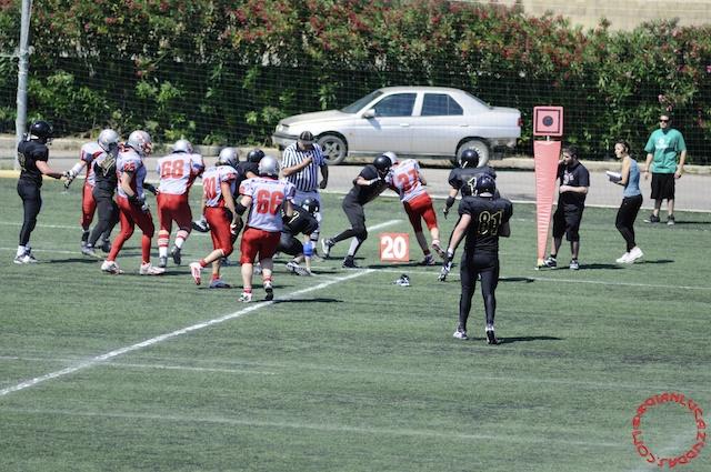 Crusaders Cagliari vs Dragons Salento, 48-0, 29 maggio 2011 240