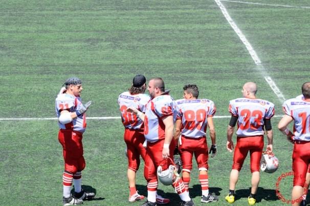 Crusaders Cagliari vs Dragons Salento, 48-0, 29 maggio 2011 33