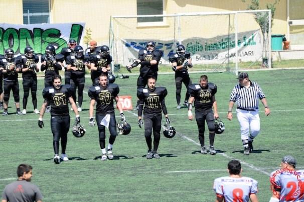 Crusaders Cagliari vs Dragons Salento, 48-0, 29 maggio 2011 55