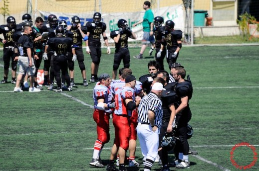 Crusaders Cagliari vs Dragons Salento, 48-0, 29 maggio 2011 57