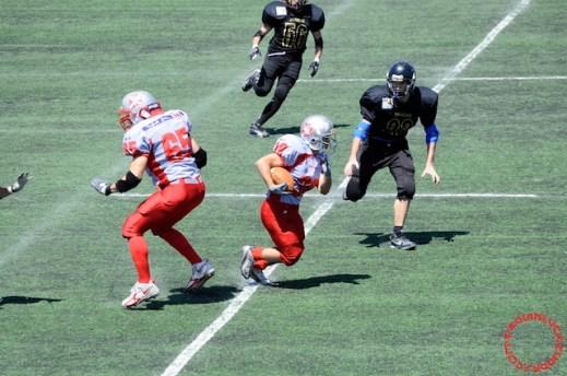 Crusaders Cagliari vs Dragons Salento, 48-0, 29 maggio 2011 62