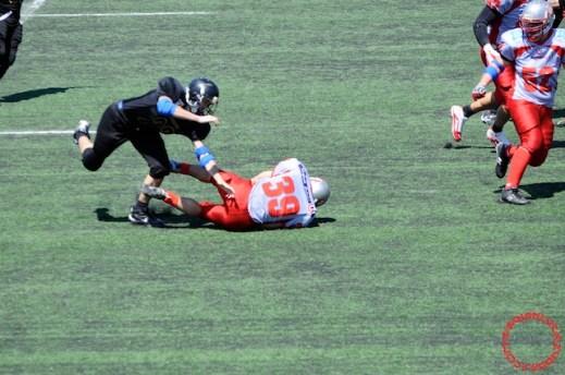 Crusaders Cagliari vs Dragons Salento, 48-0, 29 maggio 2011 63