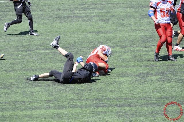 Crusaders Cagliari vs Dragons Salento, 48-0, 29 maggio 2011 64