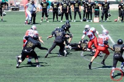 Crusaders Cagliari vs Dragons Salento, 48-0, 29 maggio 2011 66