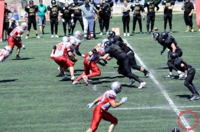 Crusaders Cagliari vs Dragons Salento, 48-0, 29 maggio 2011 67