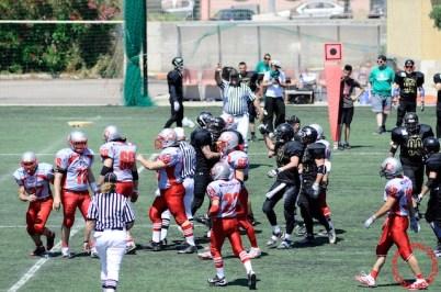Crusaders Cagliari vs Dragons Salento, 48-0, 29 maggio 2011 69
