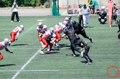 Crusaders Cagliari vs Dragons Salento, 48-0, 29 maggio 2011 70